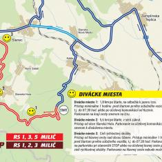 SS Milic map / Mapa RS Milič